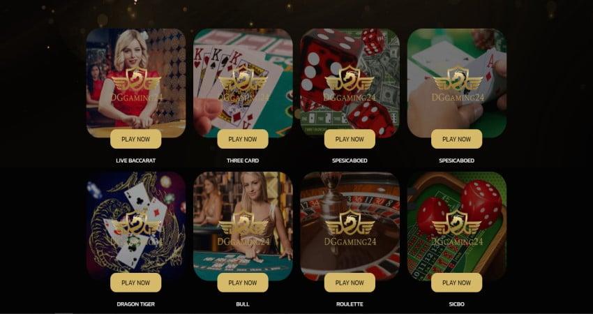 สมัคร dg casino-game
